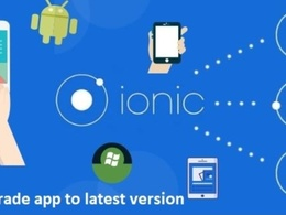 Upgrade app from ionic 3 to latest version