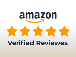 I will provide you amazon verified customer reviews