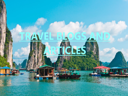 WRITE TRAVEL BLOGS AND ARTICLES
