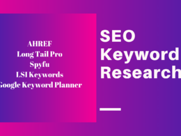 Do extensive seo keyword research & suggest best keywords+stats