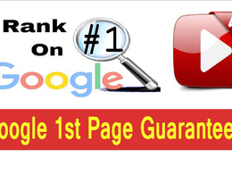Google 1st page your youtube videos and Rocket SEO,