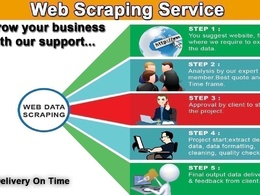 Web scraping/ Data Gathering/ data scraping from any website