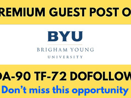 Publish a Guest Post on DA90 Brigham Young University, Byu. edu