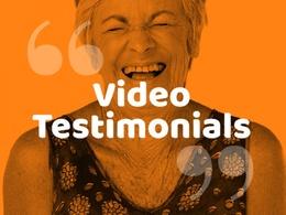 Professionally edit your video testimonial