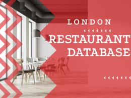 Provide London Restaurants database 13K+ BONUS 7k Emails in txt