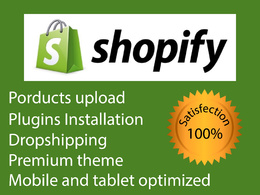 Create responsive shopify store