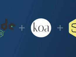 Build Node js Api using koa framework