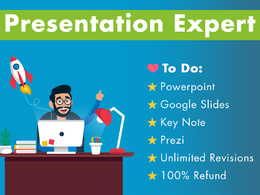 Design Powerpoint Presentation / Keynote / Google Slides / Prezi
