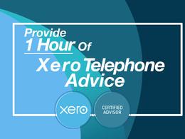 Provide 1 hour of Xero telephone advice