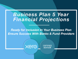 Write your 5 Year Business Plan Full Financial Projections