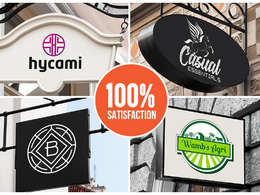 Premium Logo Design + Stationary + favicon + Font + Source files