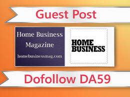 Guest post on Home Business Magazine - homebusinessmag.com- DA59