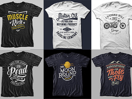 Do Bulk Custom Typography and Printable T Shirt Designs