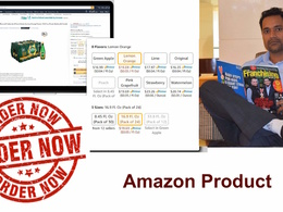 Create Your Product Variation On Amazon (1product ,3 variation)