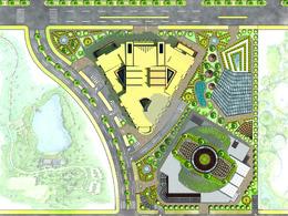 Create architectural site plan and landscape design