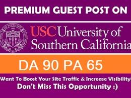 Guest Post on USC - Usc.edu - DA91