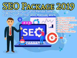 100% White Hat SEO Package - Google Algorithm Safe SEO Links