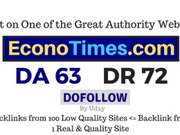 Publish guest post on Econotimes.com DA63, DR72 Dofollow Link
