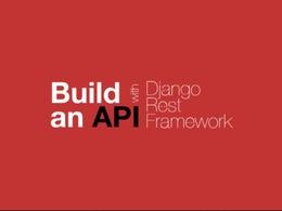 Build Web Api With Django Rest Framework