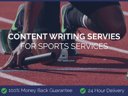 Content Writing for Sports Services