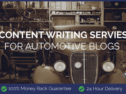 Content Writing for Automotive Blogs
