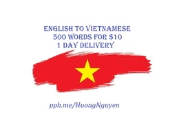 Translate English Vietnamese 500 Words