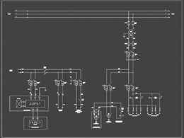 Convert / Redraw Electrical drawing to Autocad.