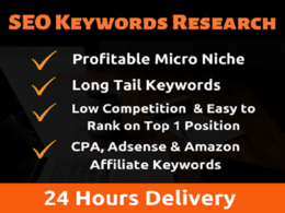 Find Profitable Micro Niche And SEO Long Tail Keywords ResearcH