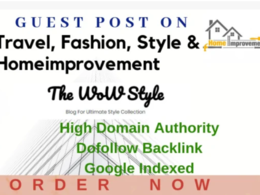 Post on Thewowstyle-Thewowstyle.com site DA 66