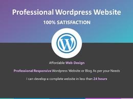 Build a Professional Responsive Wordpress Website