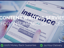 Content Writing for Insurance Services