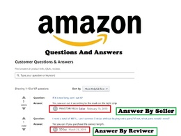 Post 30 Amazon Q&A from Verified Accounts