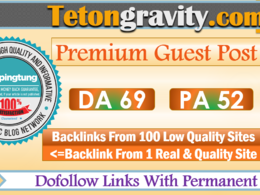 Publish a Guest Post on Tetongravity - Tetongravity.com DA 69