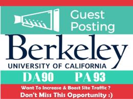 EDU Guest Post on Berkeley.edu - University of California - DA9