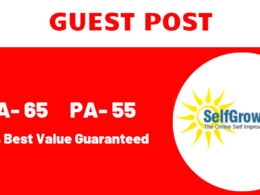 Write & publish guest Post on Selfgrowth DA 75 Dofollow backlink