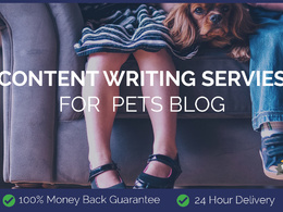 Content Writing for Pets Blog
