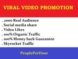 Massive Youtube Video Promotion