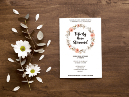 Create you an invitation