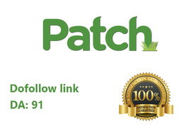 Write & publish guest Post on Patch DA 91 Dofollow backlink