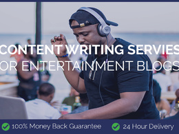 Content Writing for Entertainment Blogs