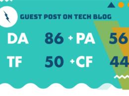 Post on Googlenews approved quality Tech Business Site DA86:TF50