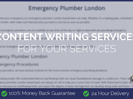 Content Writing for Your Services (500 Words)