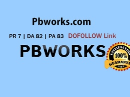 Write & Guest Post in Pbworks.com PR7 DA 82 Dofollow backlink