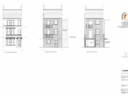 Rear extension planning application/ Permitted drawing pack