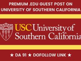 Guest post on my California edu University Blog - USC .edu