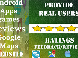 Promote your app/game on website with 12 review ratings