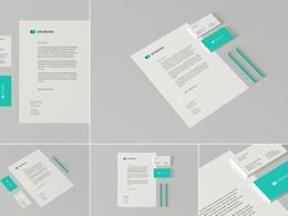 Premium logo + Brand Identity + favicon + Font + Source files