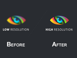 Convert Low Quality Logo to Higher Quality One within 12hrs