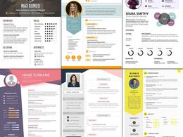 Rewrite & design a killer CV resume in infographic style