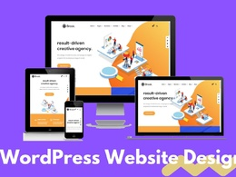 Create modern wordpress websites for any business